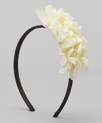 Cream Lovely Headband