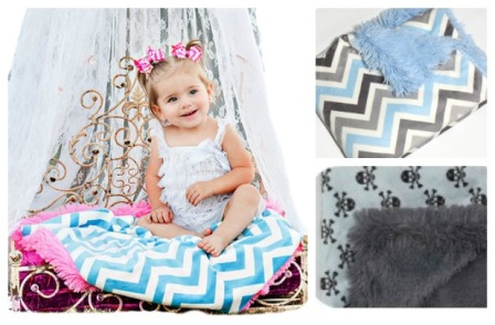 Snuggler Luxe Minky Blankets